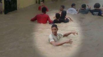 Jovem desapareceu após pular no Rio Tejipió