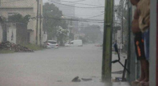 Previsão de chuva forte em 3 regiões de PE até sexta (14), alerta Apac