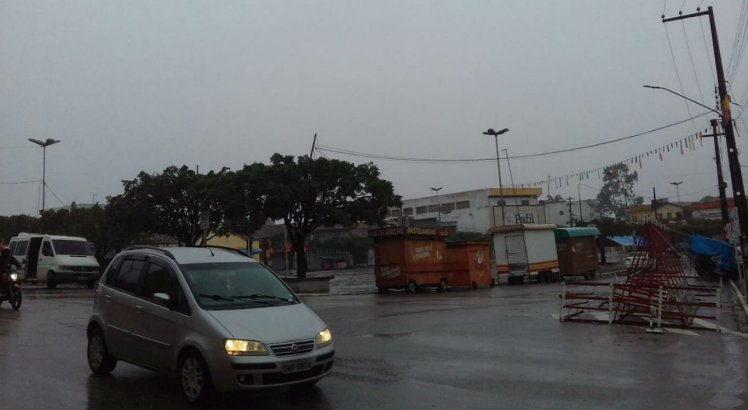 Chuvas em Glória do Goitá, na Zona da Mata