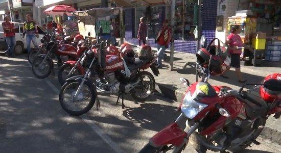 Mototaxistas fazem diversas reivindicações à prefeitura de Caruaru