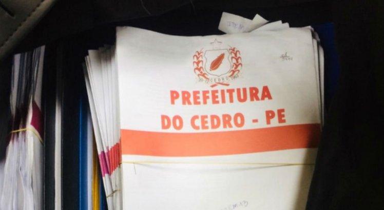 Operação foi deflagrada no dia 15 de maio e investiga desvio de recursos na Prefeitura de Cedro