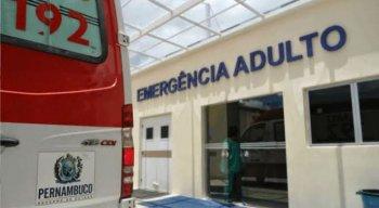 Adolescente foi levado para o Hospital Dom Moura