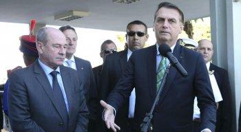 Bolsonaro disse que pretende cumprir uma de suas promessas de campanha à Presidência da República
