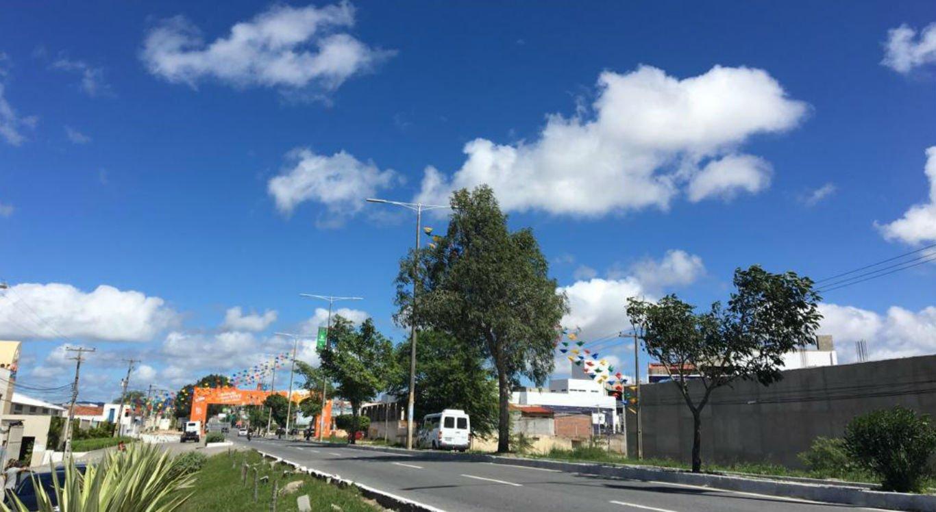 Tempo será parcialmente nublado no Agreste durante o São João