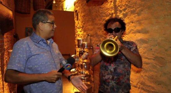 O Povo na TV: Ciro entrevista Maestro Forró no quadro