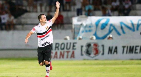 DM do Santa Cruz confirma que Pipico não vai jogar contra o Náutico