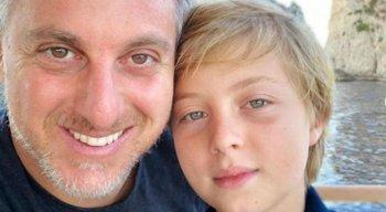 Luciano HUck e os filhos faziam um passeio de lancha no momento do acidente