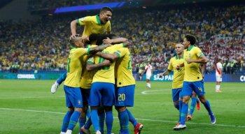 A seleção brasileira enfrentará o terceiro colocado do grupo B ou C