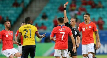 A seleção chilena, bicampeã das últimas duas edições da Copa América, está em busca do tricampeonato