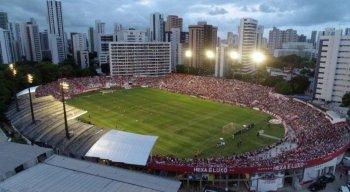 Estádio dos Aflitos tem capacidade para 19.600 espectadores.