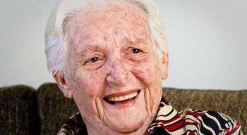 Dona Elzita completaria 106 anos no próximo dia 16 de outubro