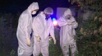 Os corpos foram localizados em avançado estado de decomposição no Sítio Maria Clara, na zona rural da cidade