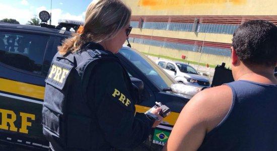 PRF registra 78 acidentes durante o São João nas rodovias de PE