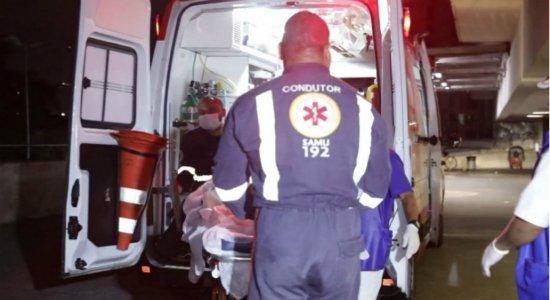 Jovem é baleado por primo por causa de som alto em festa de São João