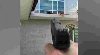 O empresário atirou para o alto e rendeu o suspeito, até a chegada da Polícia Militar