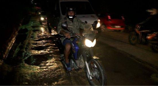 Caos na PE-17 em Jaboatão: Prefeitura culpa Governo do Estado