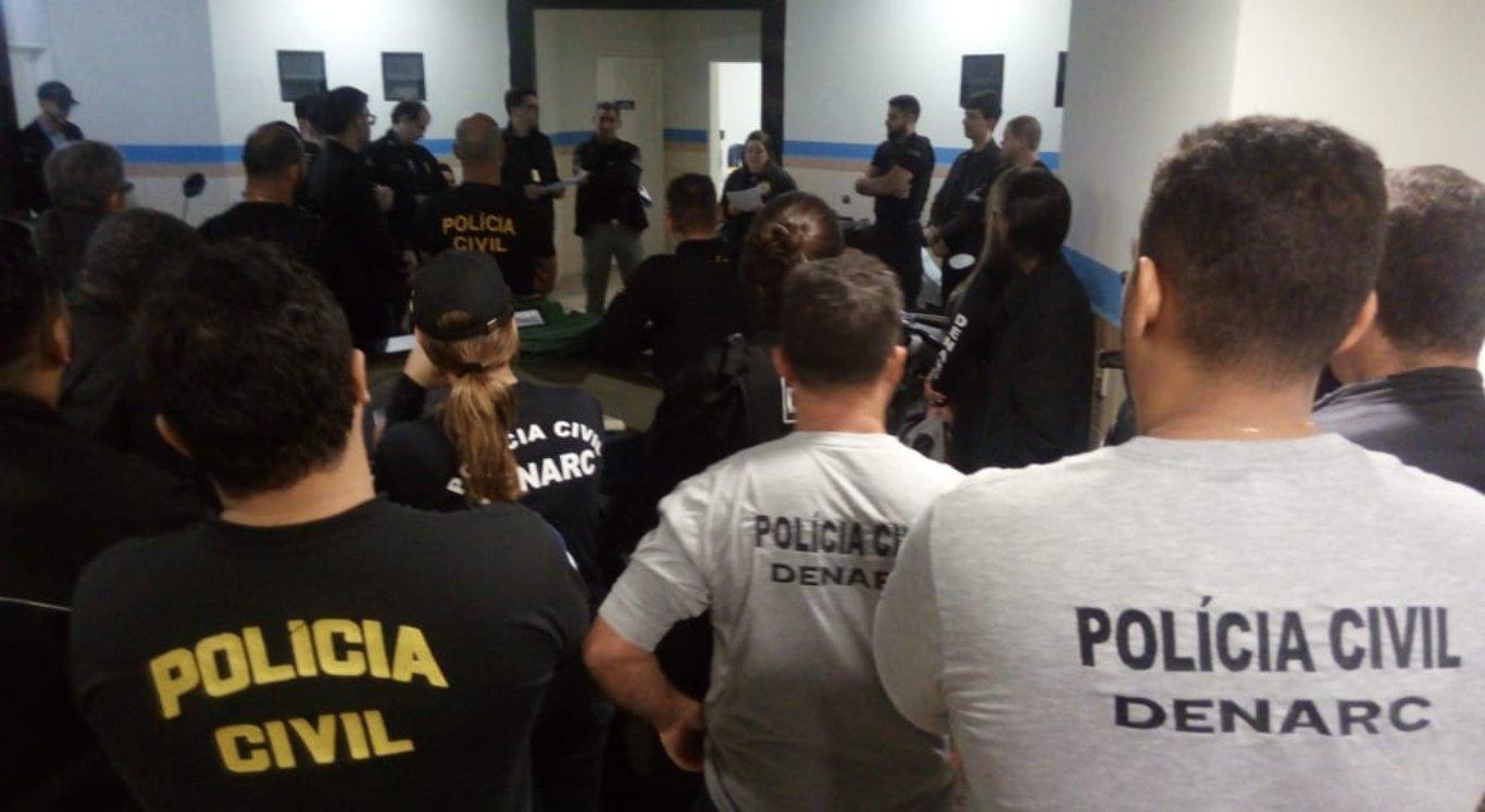 A Operação é coordenada pela DIRESP e supervisionada pela Chefia da Polícia