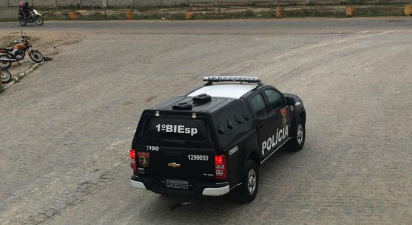 Crime aconteceu em frente a uma empresa no Distrito Industrial