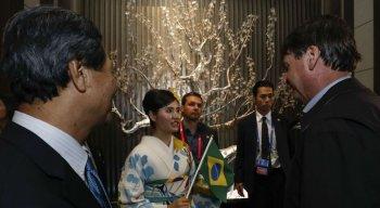 Bolsonaro está no Japão durante a Cúpula do G20
