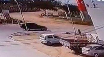 O empresário foi morto no Distrito Industrial e estava acompanhado do motorista e da filha
