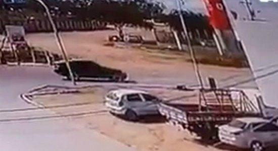 Vídeo mostra momento em que empresário é assassinado em Caruaru
