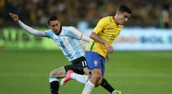 Brasil e Argentina já se enfrentaram 104 vezes na história.