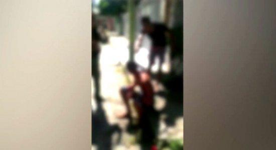 Vídeo: suspeito de assalto é detido pela população na Encruzilhada