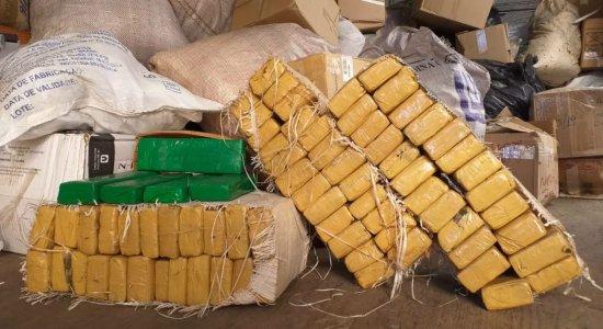 Polícia incinera 1.290 kg de entorpecentes