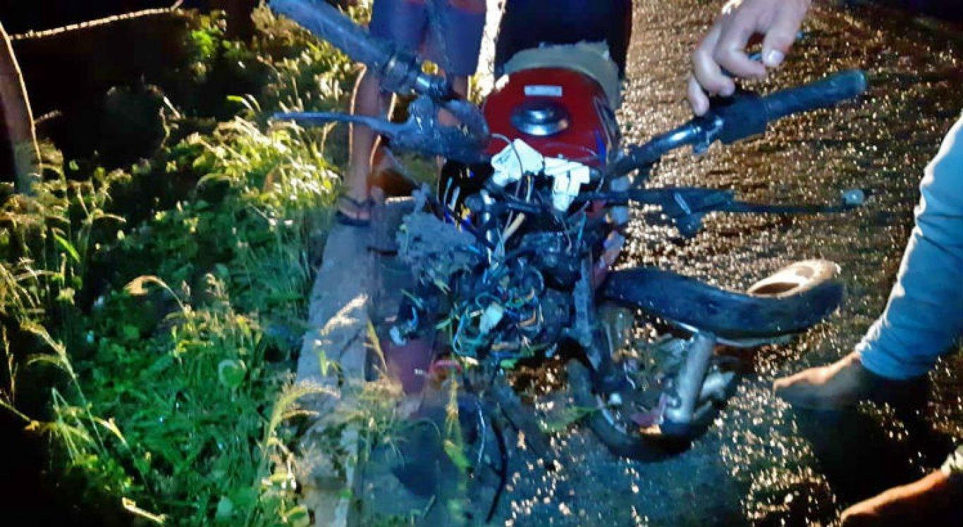 Motociclista não resistiu aos ferimentos e morreu no local