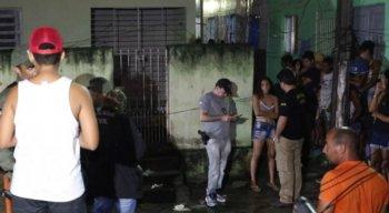 O crime aconteceu em um beco transversal da Rua Joaquim Amazonas