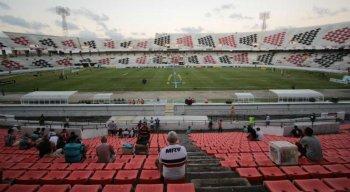 Último jogo do Santa Cruz no Arruda aconteceu no clássico contra o Náutico