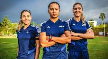 Será a quarta participação do trio de arbitragem brasileiro no Mundial