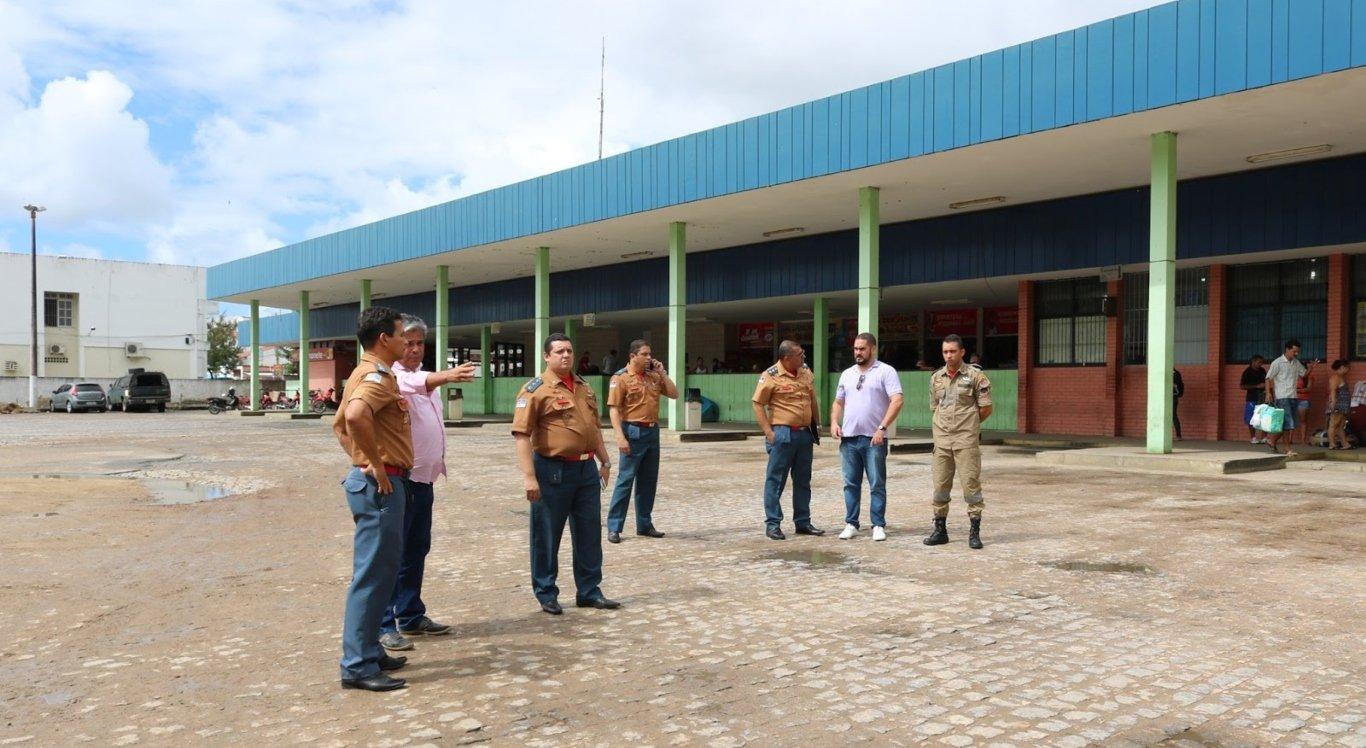 Uma área da rodoviária de Limoeiro vai receber instalação de unidade do Corpo de Bombeiros