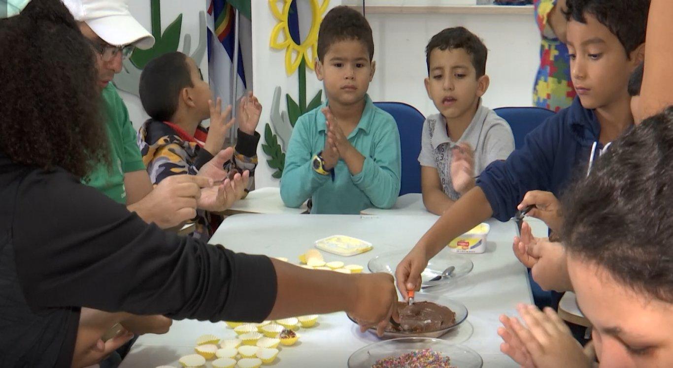 Associação promove mês de atividades para as crianças