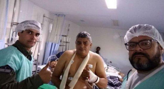 Morre outro PM envolvido em troca de tiros em Santa Cruz do Capibaribe