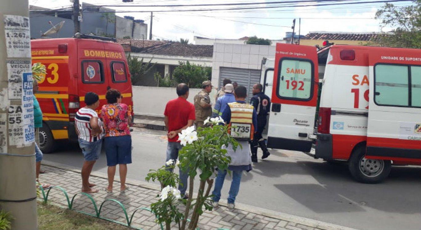Trabalhadores foram atendidos e levados para o Hospital Regional do Agreste
