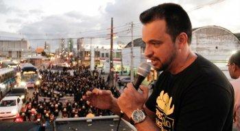 Áureo Cisneiros, presidente do Sinpol, fez críticas à reforma da Previdência