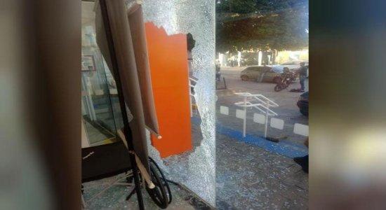 Agência bancária é alvo de tentativa de assaltono Janga
