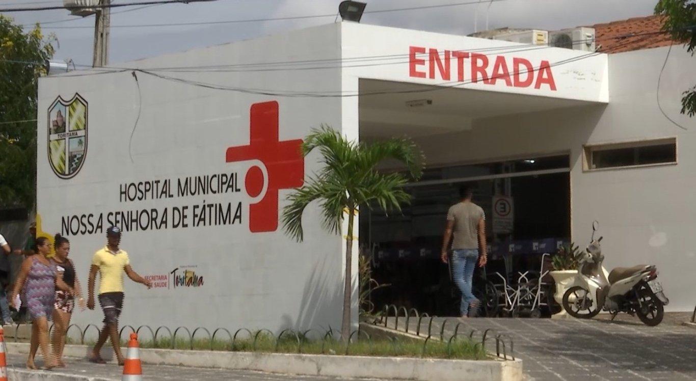 O homem foi levado para o Hospital Municipal de Toritama, mas não resistiu