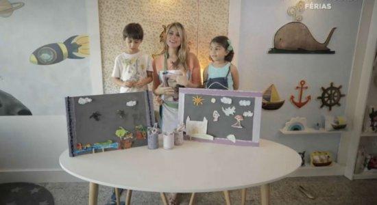 TV Mãos à Obra mostra como ocupar as crianças sem sair de casa
