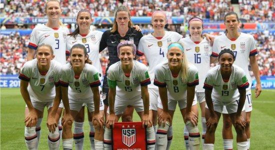 EUA vencem a Holanda por 2 a 0 e faturam Copa do Mundo feminina