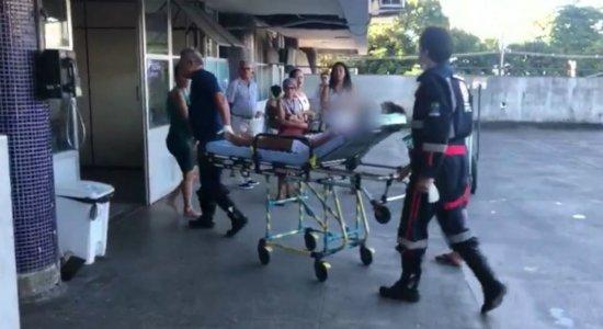 Explosão de gás atinge avó e neta que cozinhavam em Olinda