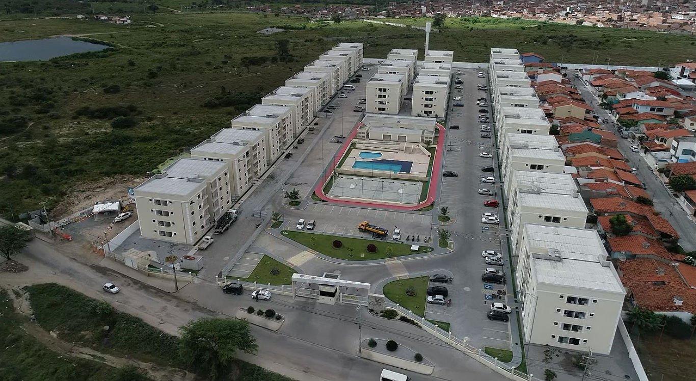 Residencial Acauã é um dos empreendimentos financiados pelo Minha Casa Minha Vida