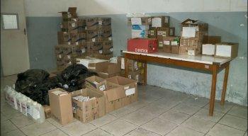 Material foi encontrado na Central de Abastecimento Farmacêutico