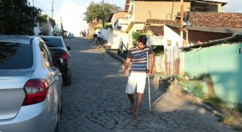 Anderson Santos sofre de artrite reumatoide