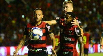 Guilherme foi o destaque do Sport na partida, com um gol e assistência