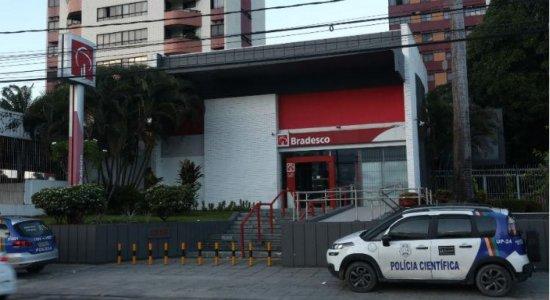 Homem é preso após invadir agência do Bradesco na Avenida Caxangá