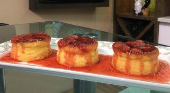 Tortinhas de Queijo com Geleia de Frutas