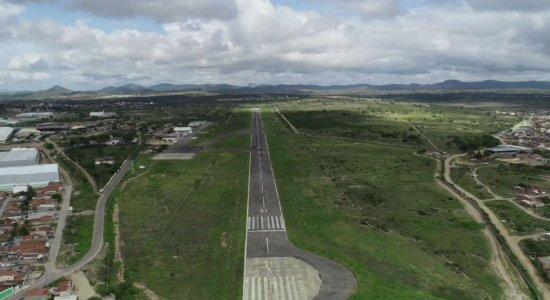 Aeroporto de Caruaru volta a funcionar, mas não recebe voos comerciais