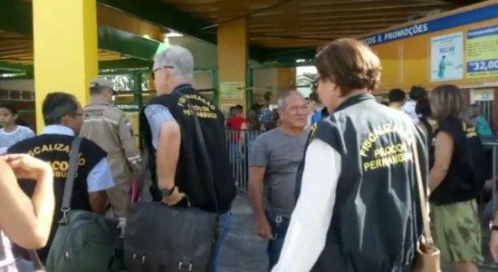 Procon fiscaliza parques no Grande Recife